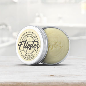 Shampoo Bar for Frizzy Hair with Travel Tin - Natural & Handmade - Australia