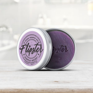 Flipster - Purple Vegan Shampoo Bar & Travel Tin